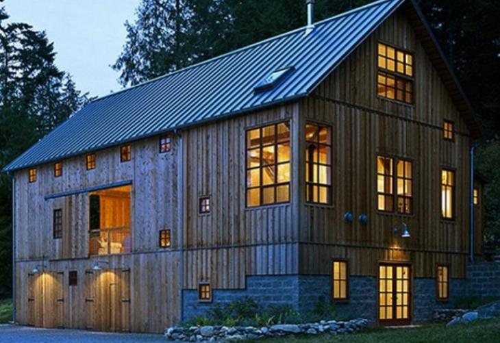 Building barn homes