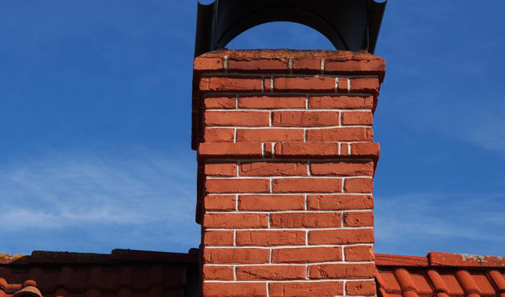 Cape cod central chimney
