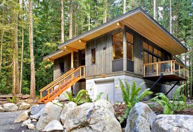 Eco friendly modular house
