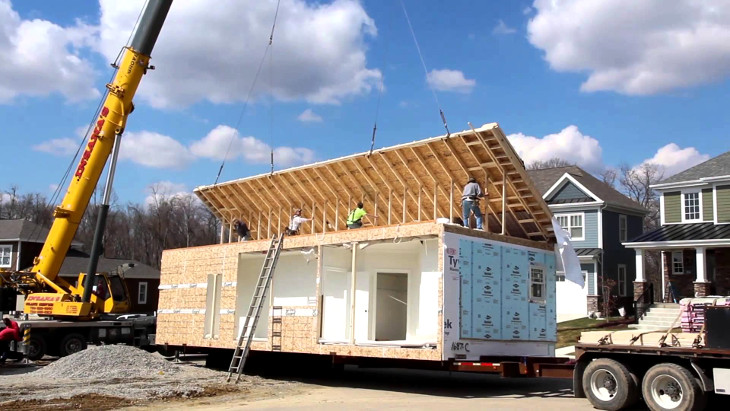 Fast construction of modular home