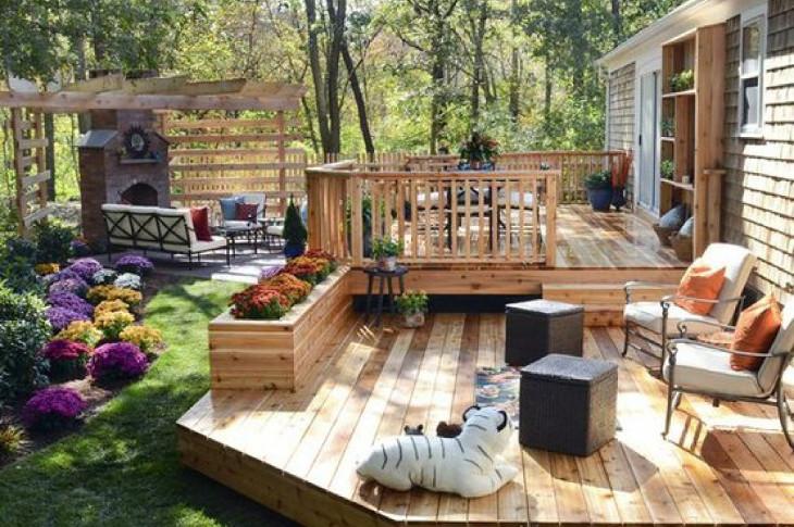 Home deck idea