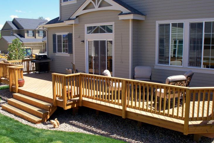 Home deck improvement