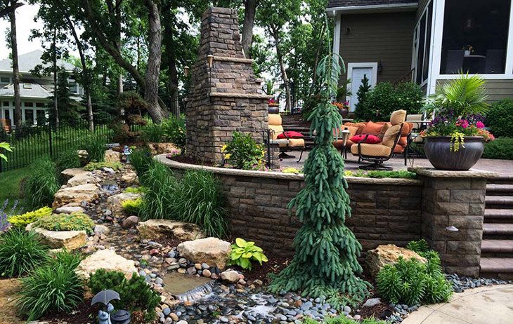 Landscaping renovations for home