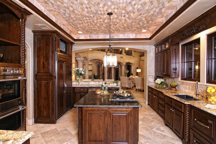 Luxury kitchen model