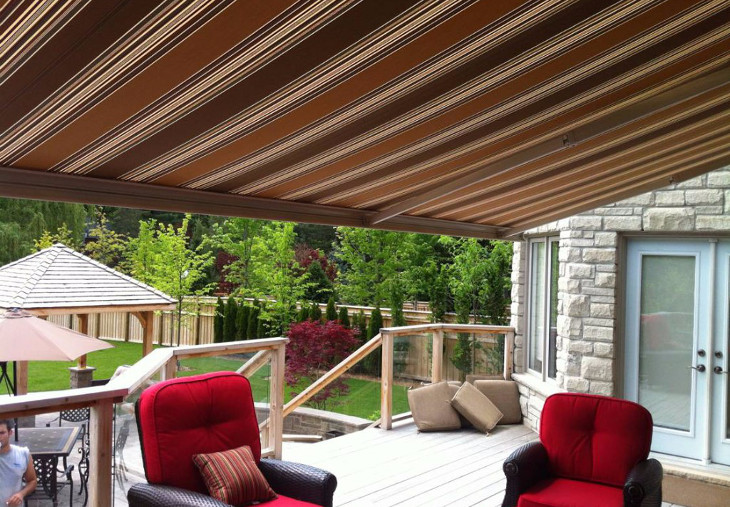 Maintaining your awning