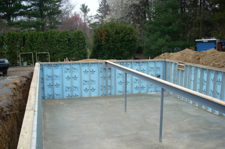Modular home foundation