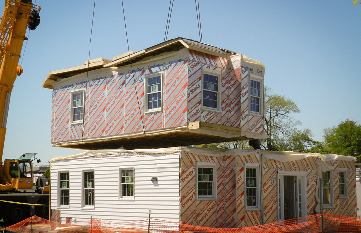 Modular homes are cost effective