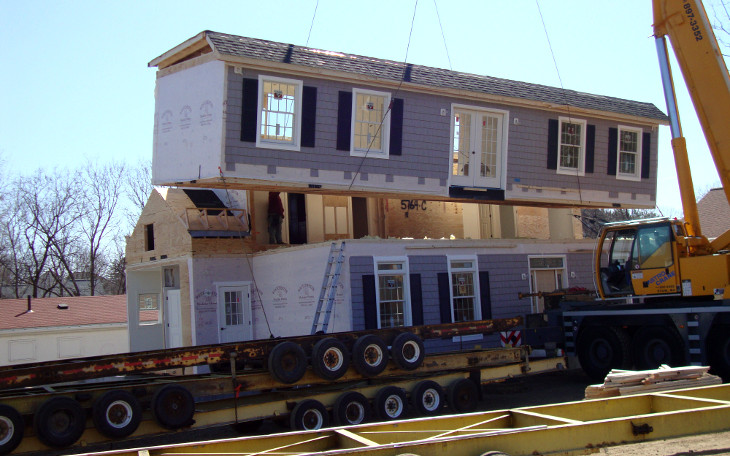 Modular house assembly