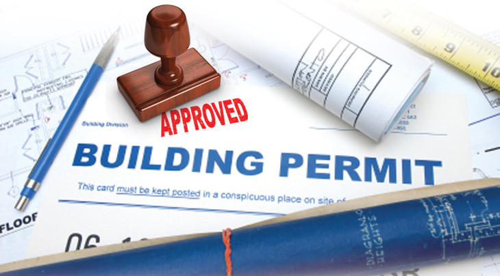Permit for modular home
