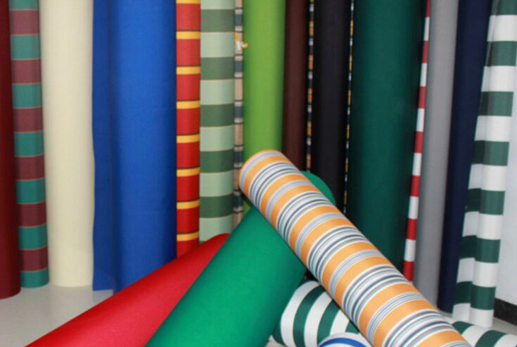 Polyester fabric material