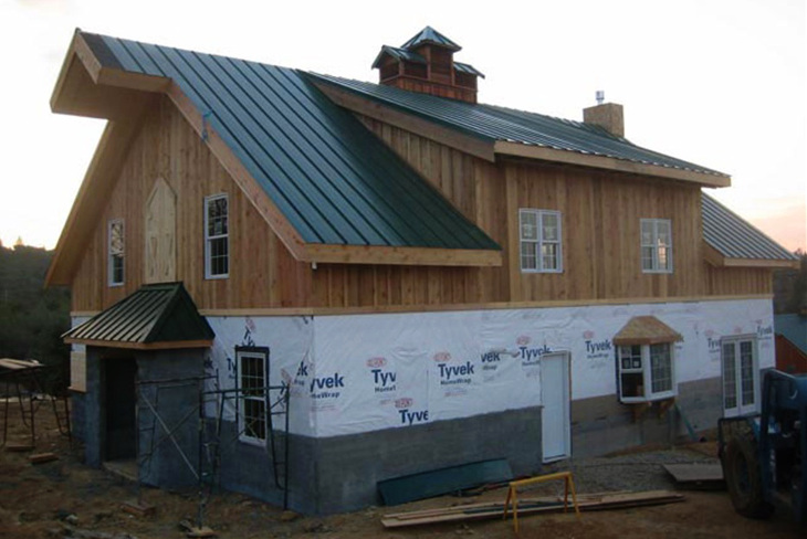 Prefab barn house safety