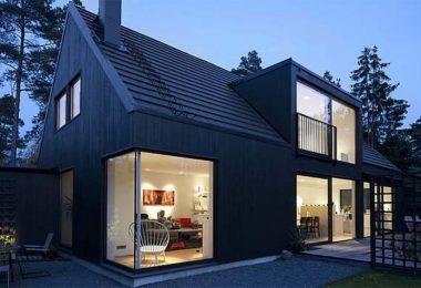 Prefab barn houses