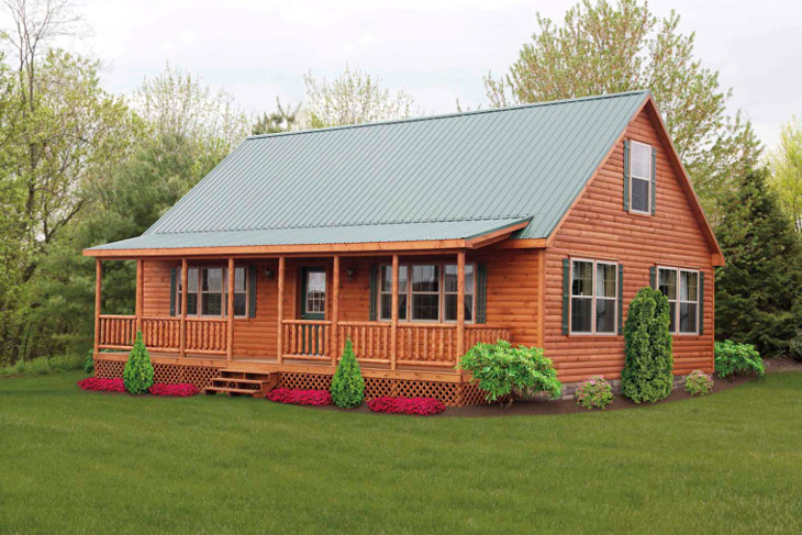 Ranch style manufactured home