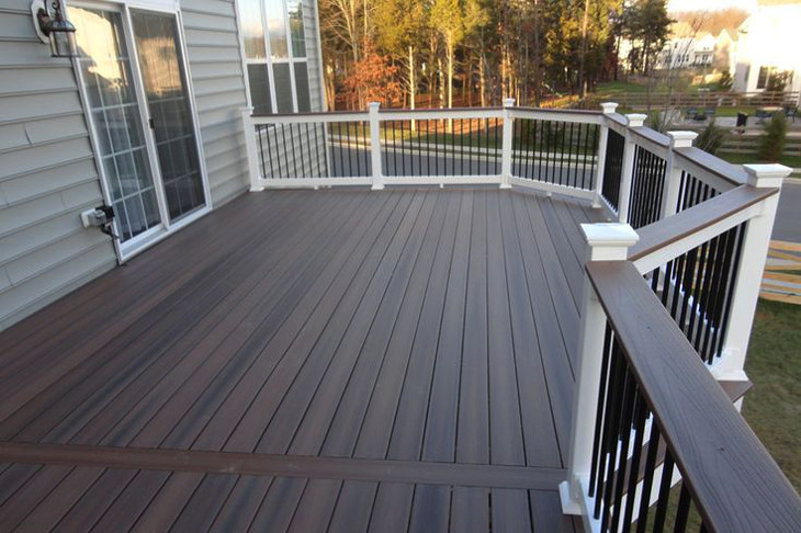 Removing deck stains