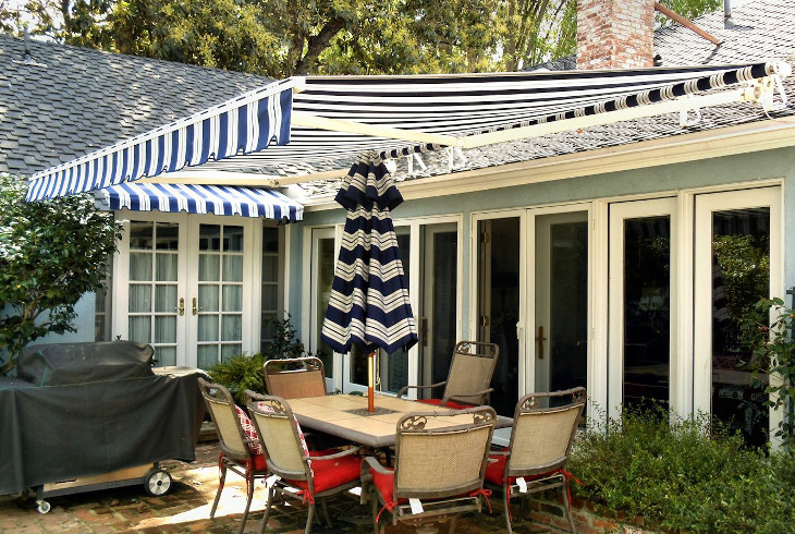 Sample home awning