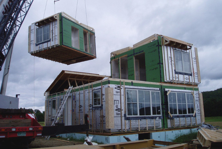 Shipping modular homes