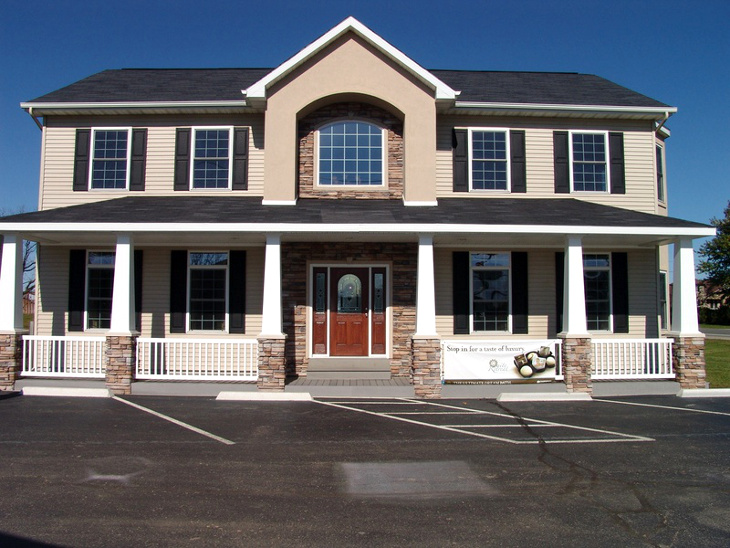 Two story manufactured home