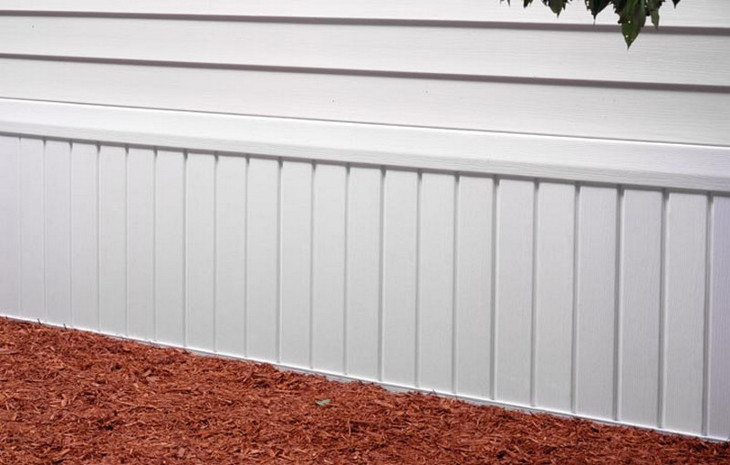 Mobile Home Skirting Ideas: Aesthetics for Outdoor View