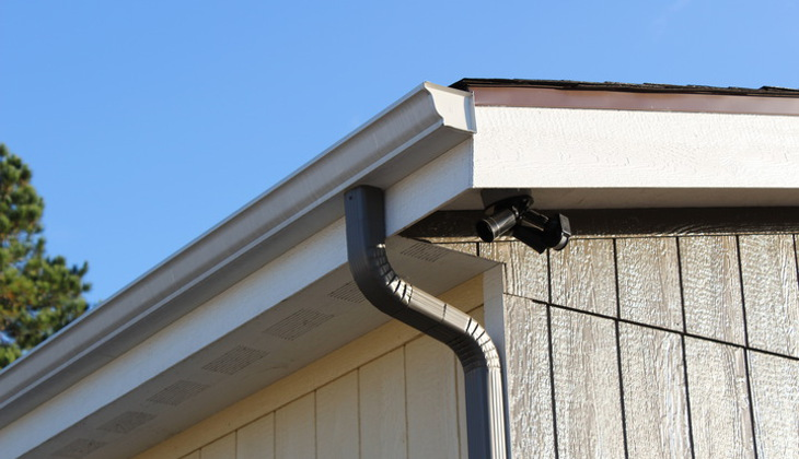 Check for clogged gutters