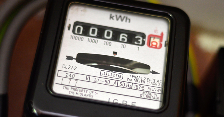 Checking electricity meter