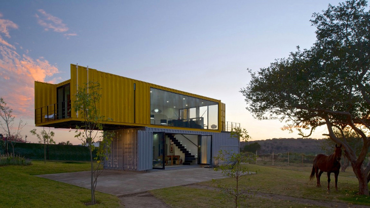 Containers to build as home