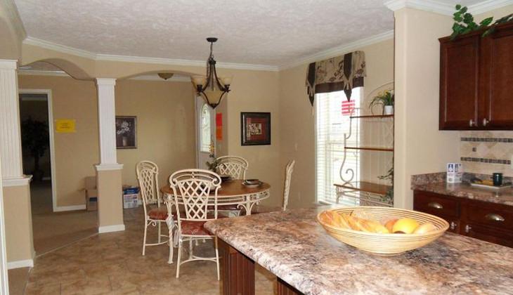 Customized modular home interior