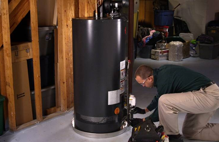Installing hot water system