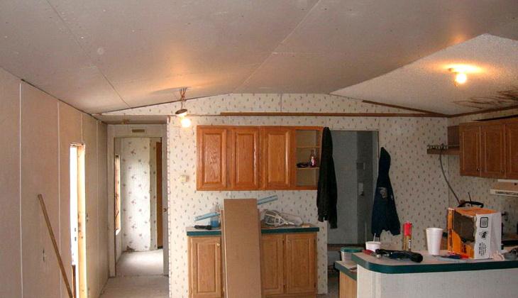 Making ceiling taller