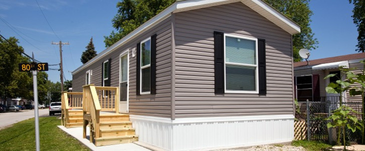 Manufactured home on 80th street