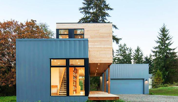 Modern style modular house