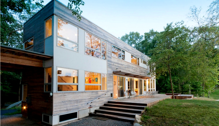 Modular shipping container home
