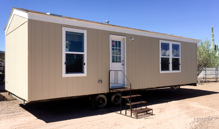 New manufactured home