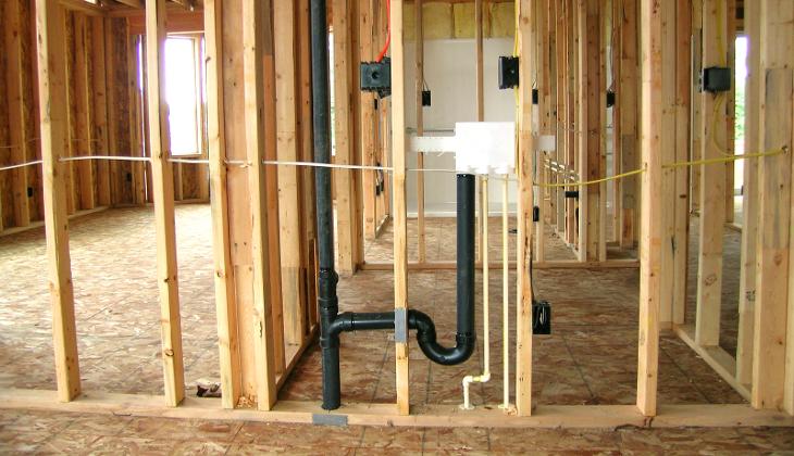 Preparing home plumbing