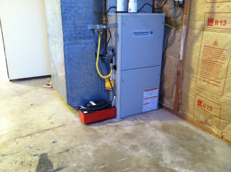 Properly maintained furnace