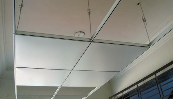 Replacing ceiling tiles