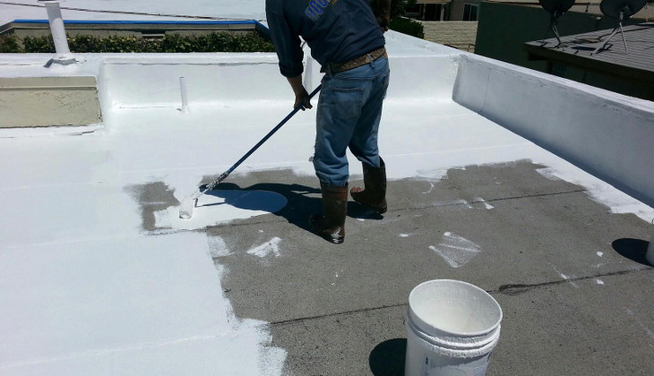 Silicone coating application