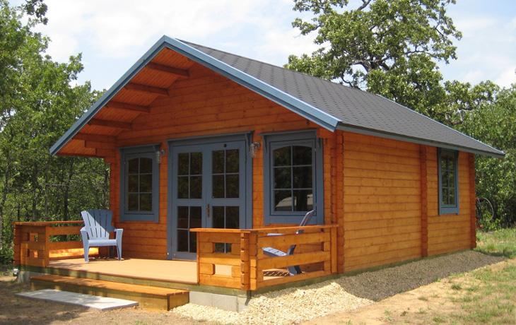 Simple modular cabin