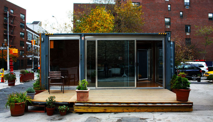 Small but elegant container home