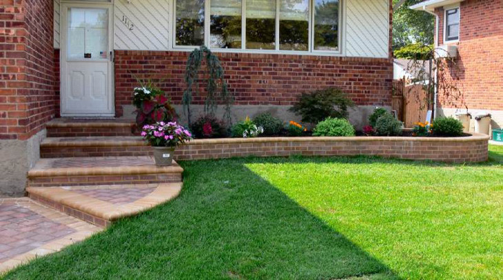 Start landscaping your mobile home
