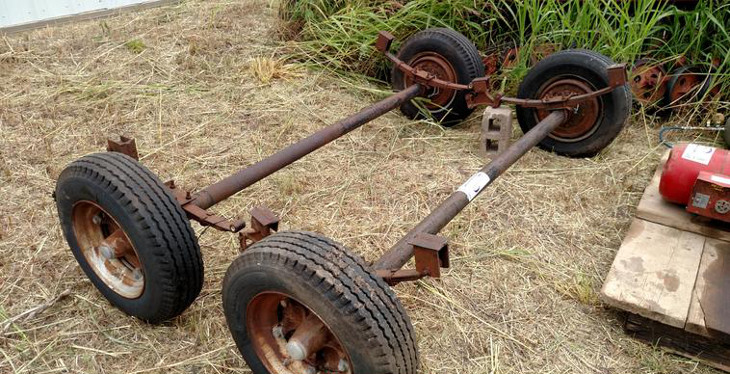 Used mobile home axle