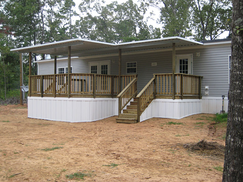 Mobile Home Steps: DIY Guide on Building Stairs for Your Home on double wide trailer skirting, double wide home deck ideas, double wide interior, townhouse decks, above ground pool composite decks, double-decker decks, double wide skirting options, double wide underpinning for wood, two story decks, split-level decks, raised ranch home decks, double wide with brick, beach house decks, log home decks, mobile homes with decks, wood screen enclosure for decks, modular decks,