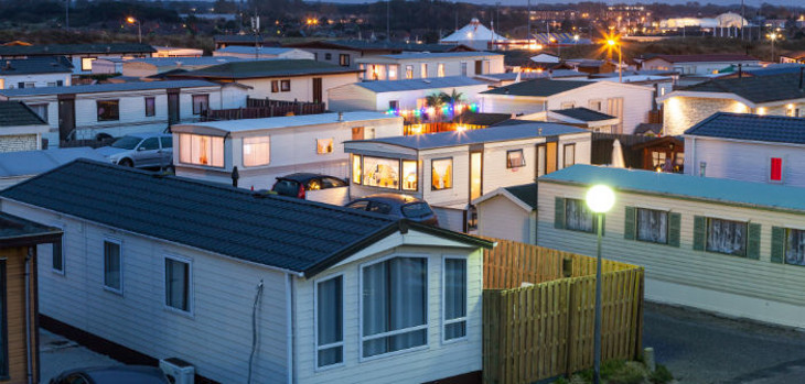 Community of mobile home owners