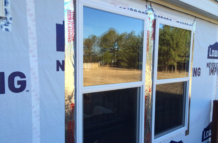 Finishing up window replacement