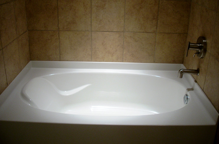 Garden bathtub for prefab homes