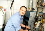 Mobile home gas furnace