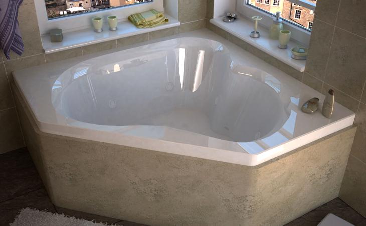Jacuzzi garden tub