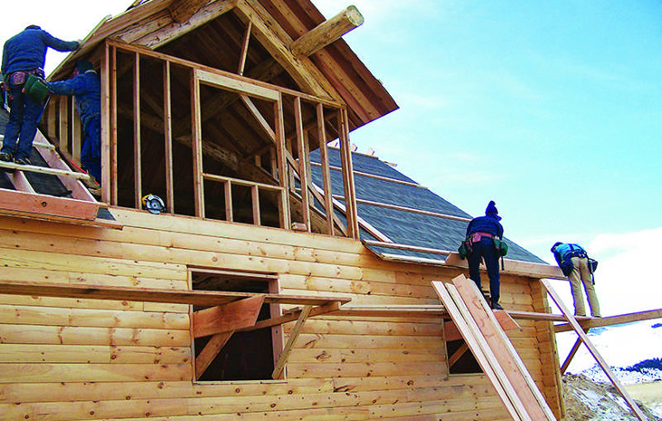 Log cabin building codes