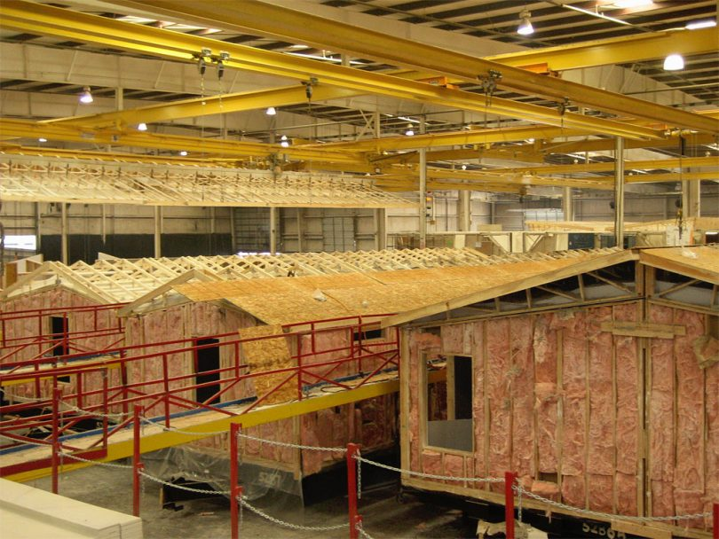 Manufactured homes factory