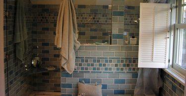 Mobile home bathroom remodeled