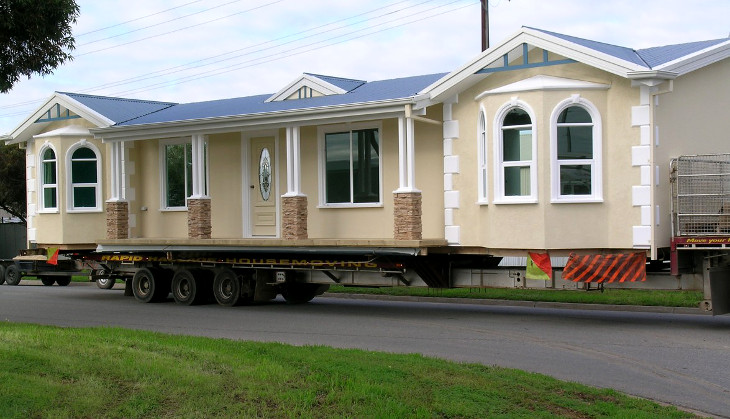 Mobile home transport